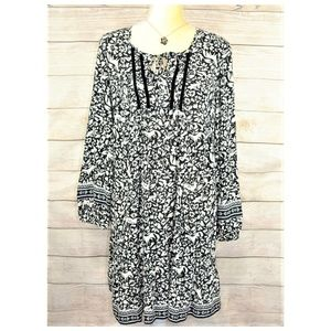 NWT Old Navy Short Dress Floral Print Size M